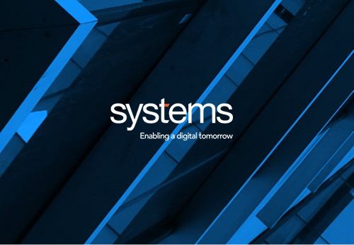 Image of modern architecture with the Systems Limited logo