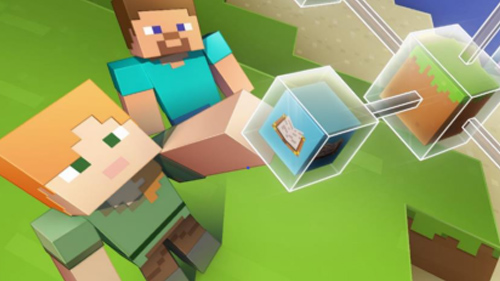 Minecraft Education Edition cartoon characters