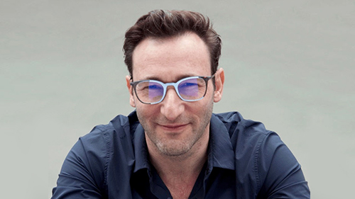 Headshot of Simon Sinek