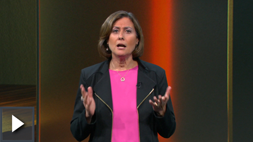 Video thumbnail image of Gavriella Schuster speaking