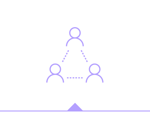 Illustration of people networking and partnering