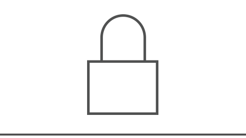 Illustration of a lock