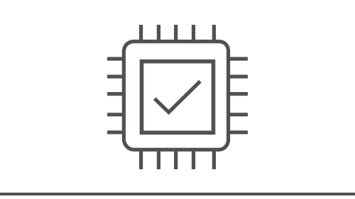 Illustration of a computer chip