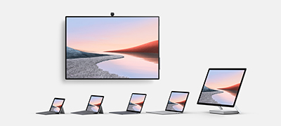 Surface devices in silver