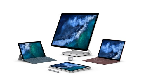 Four Surface devices