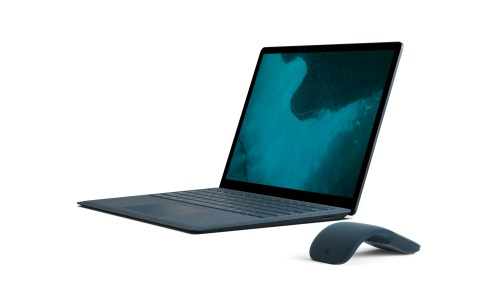 Cobalt Surface Laptop on white background