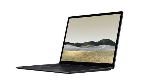 Surface Laptop 3 in black