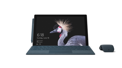 Surface Pro with LTE and Surface Arc Mouse