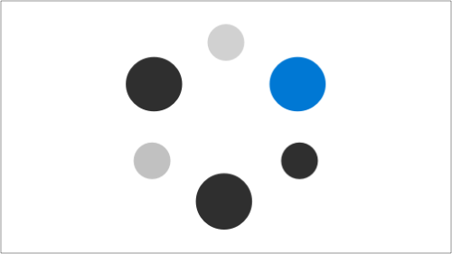 Illustration of floating circles