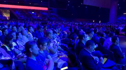 Audience at the Microsoft Worldwide Partner Conference