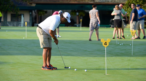 Highlight at Microsoft WPC 2015: IAMCP members playing golf at the annual tournament.