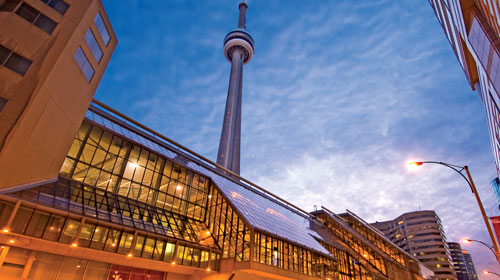 Sign your contract early to take advantage of close proximity hotel rooms to the Metro Toronto Convention Centre (MTCC)