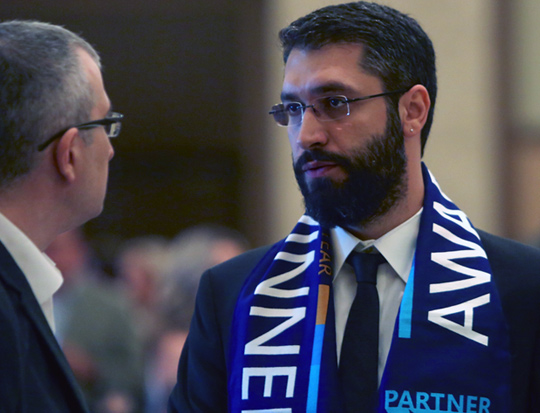 WPC awards scarf
