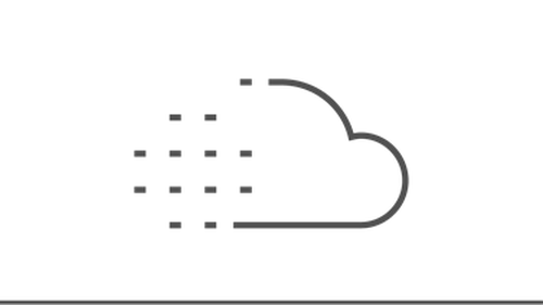 Illustration of dots forming into a cloud
