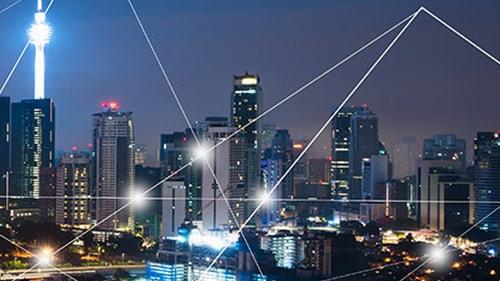 Image of city skyline