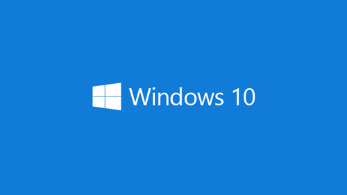 Illustration of Windows 10 logo