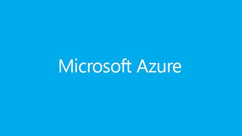 Illustration of Microsoft Azure logo