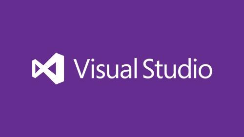 Illustration of Visual Studio logo