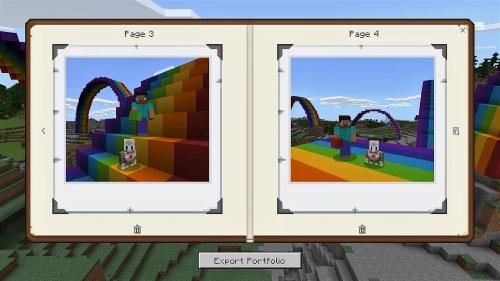 Minecraft story book