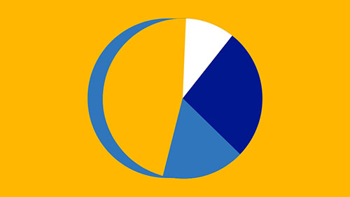 Illustration of pie chart