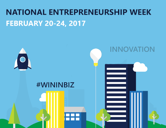 National Entrepreneurship Week Banner
