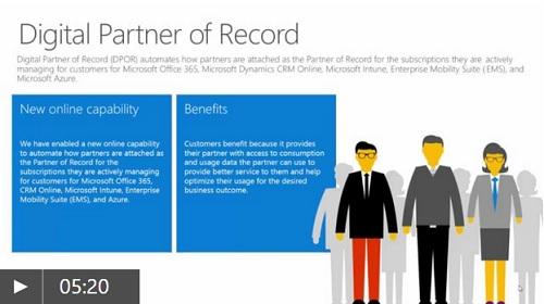 Beschreibung für Digital Partner of Record