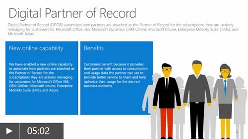 Description of Digital Partner of Record