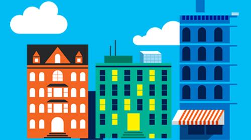 Illustrated city