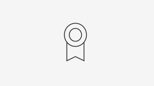 Circle badge icon