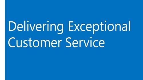 Delivering exceptional customer service
