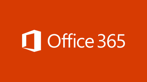 Illustration of red box with Office 365 text
