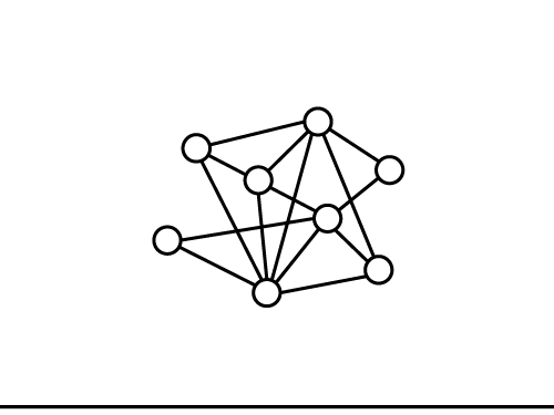 Icon of a network