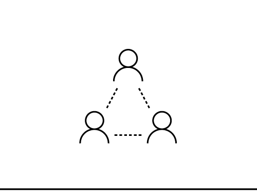 Icon of team communication