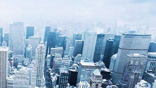 Image of a city skyline
