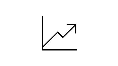 Icon of upward-trending graph