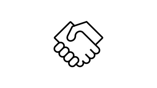 Icon of handshake