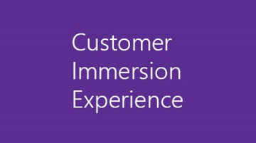 Customer Immersion Experience