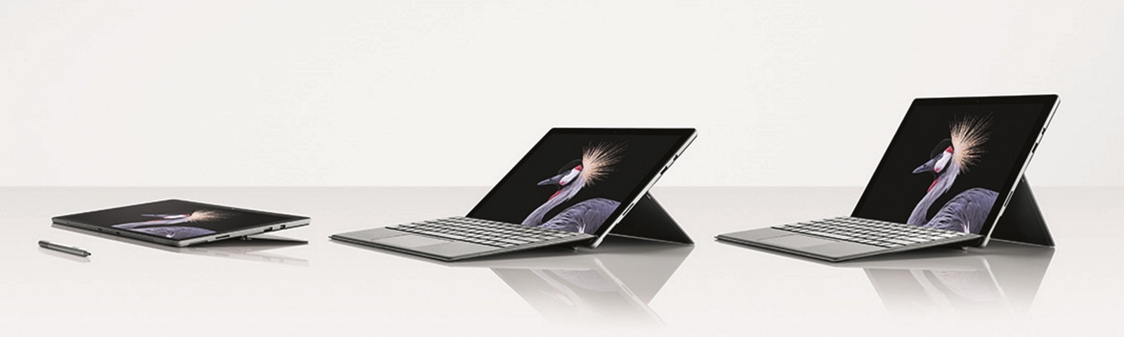 Image of Surface Book in varying stages